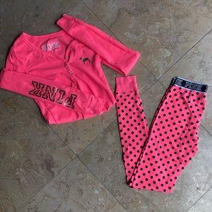 PINK matching pajama set!